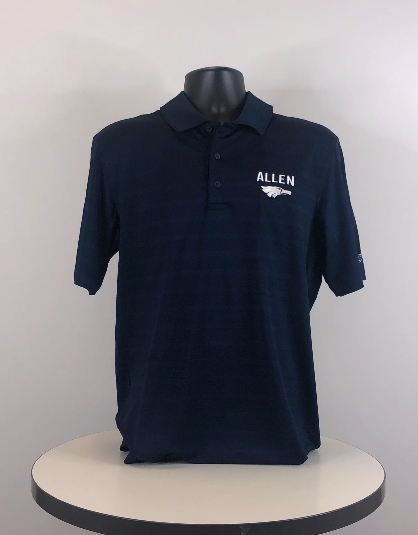 Champion Textured Solid Polo Navy