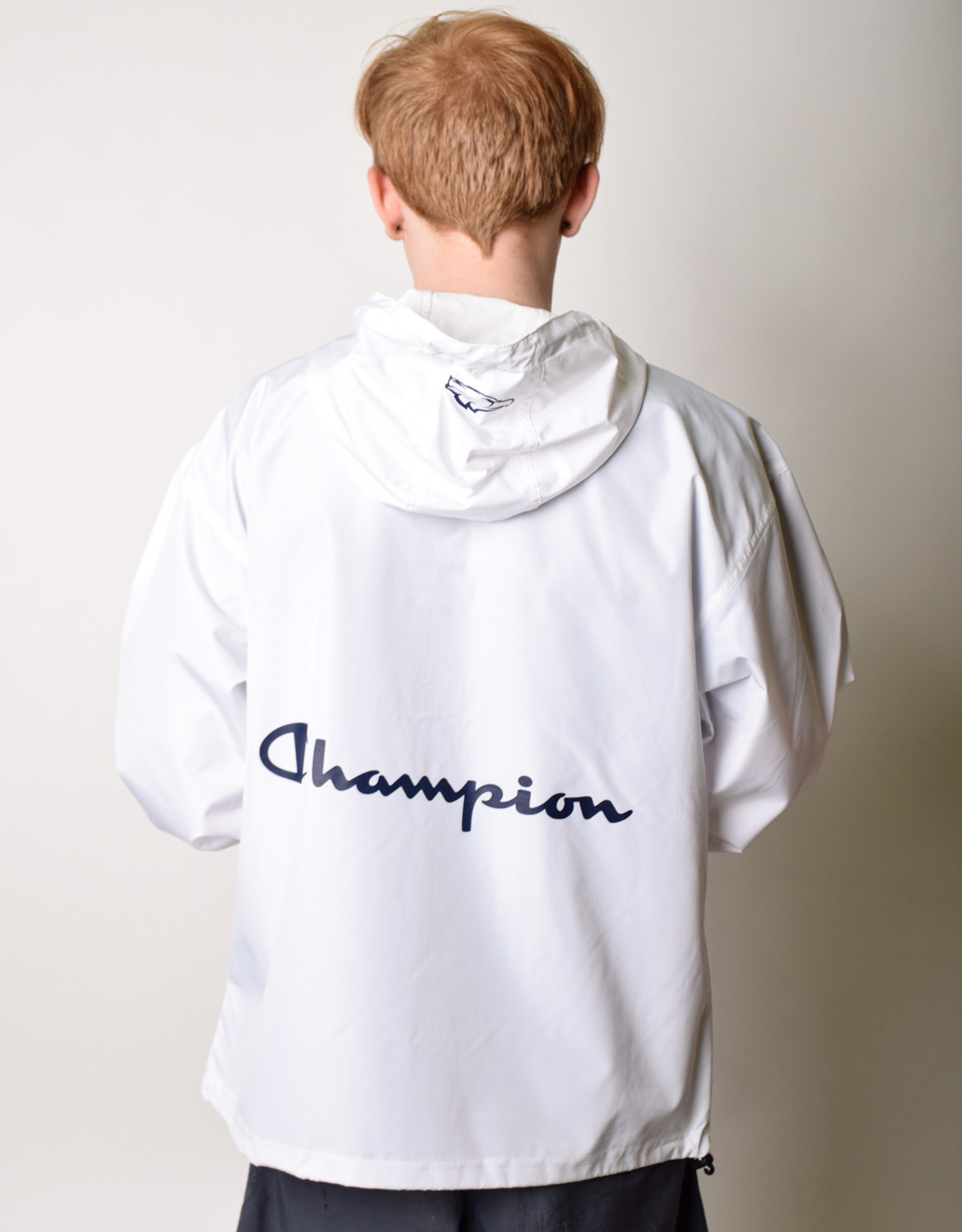 Champion Packable Jacket White