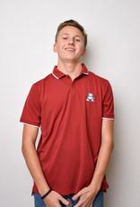 Nike UV Collegiate polo -crimson (medium)