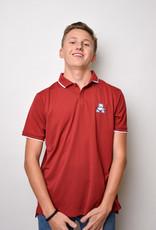 Champion UV Collegiate Polo Crimson