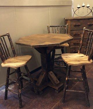 Co-ALBC Hickory Bar Stool
