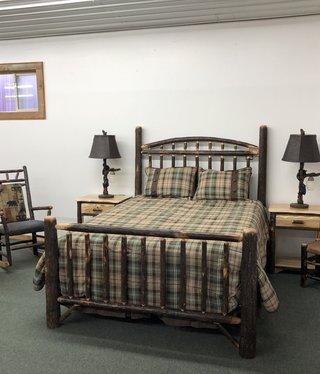 Co-ALBC Hickory Queen Bed