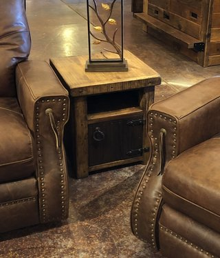Artisans Double Door Side Table