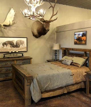 Stony Brooke Boulder Bluff Queen Bed