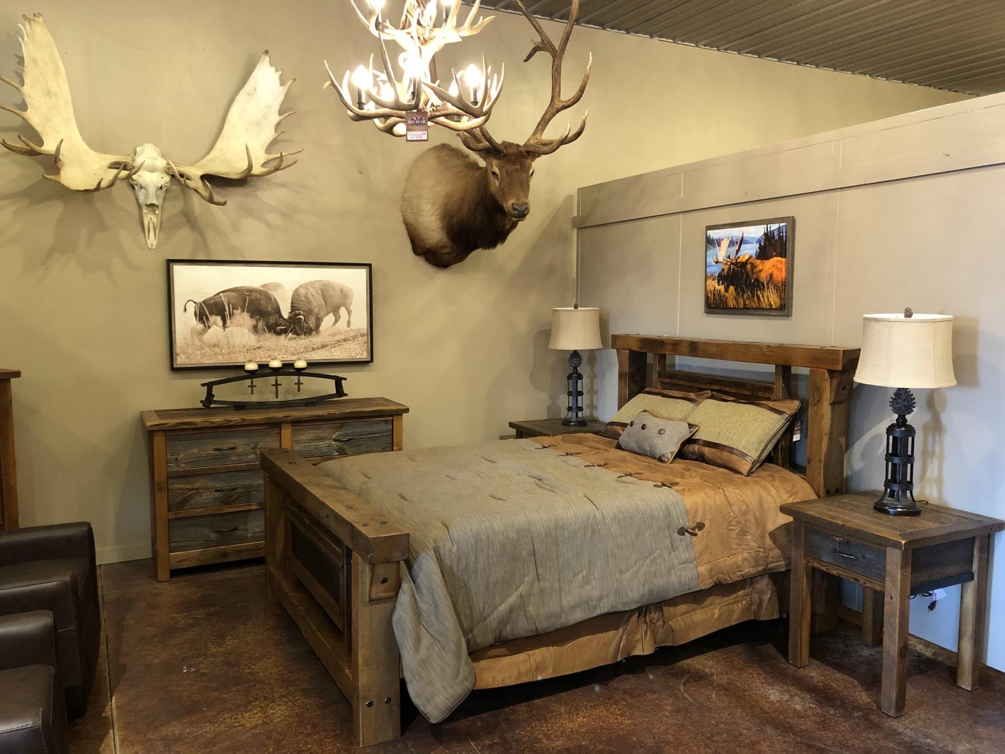 Stony Brooke Boulder Bluff Queen Bed