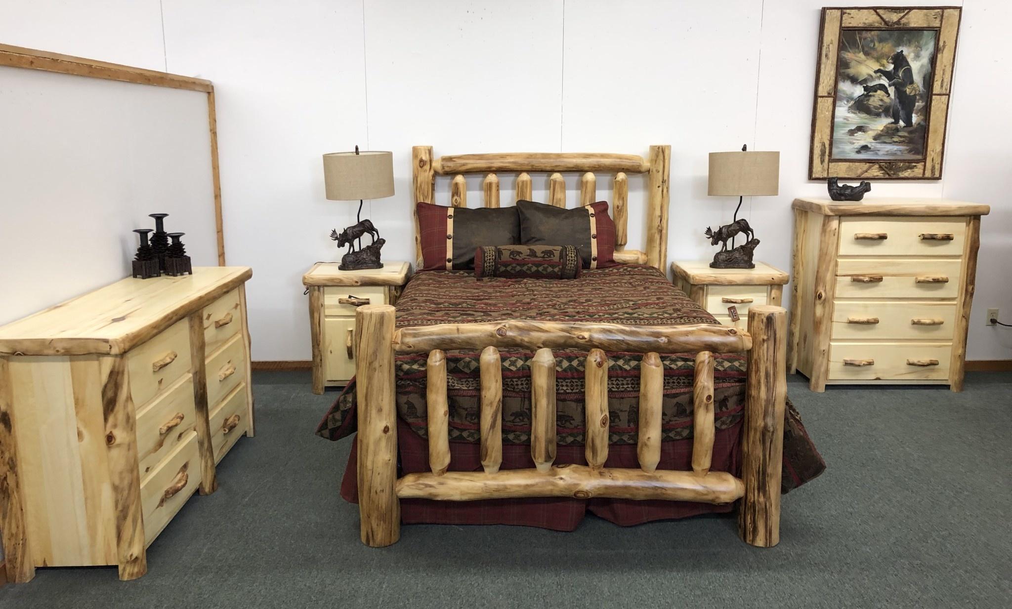 Hiend Cascade Lodge 5 pc Bedding Set Queen