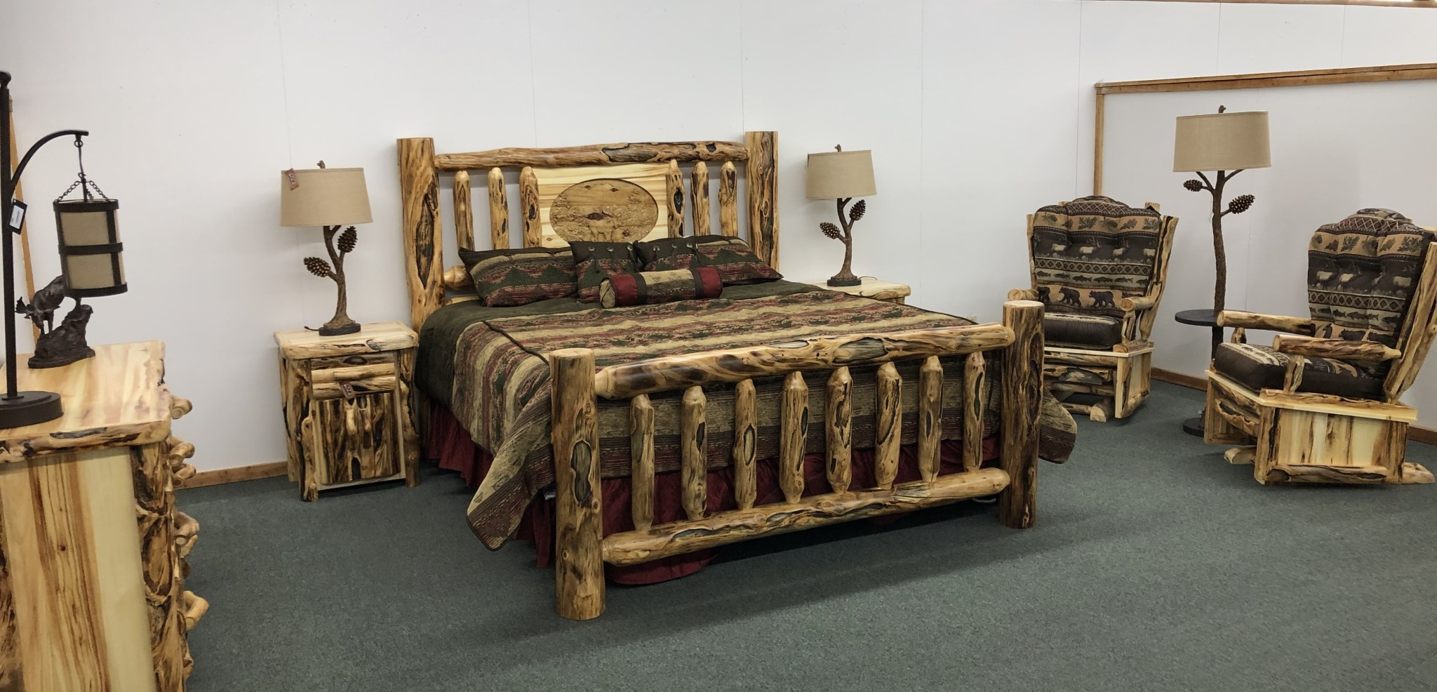 Hiend Sierra Comforter Set King 7pc