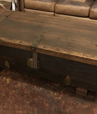 Artisans Old Wood Chunky Baul Coffee Table