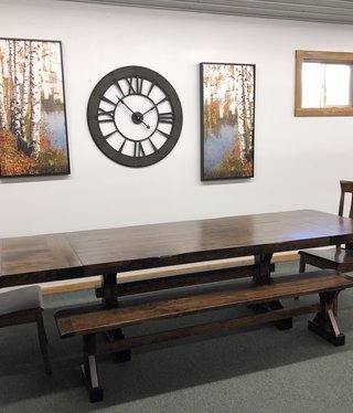 Co-ALBC 7-10ft Cherry Extension Dining Table