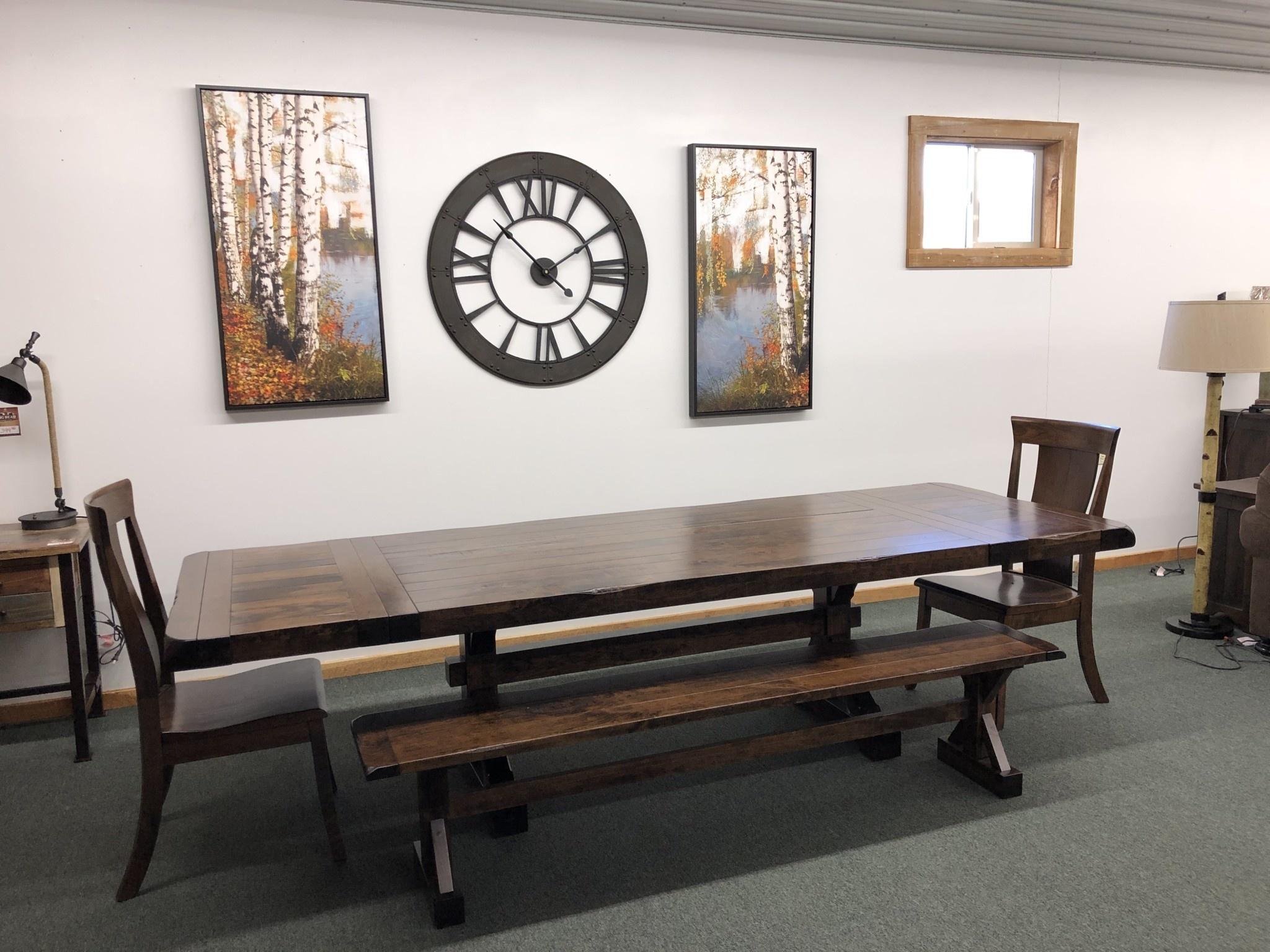 Co-ALBC 7-10ft Cherry Extension Table