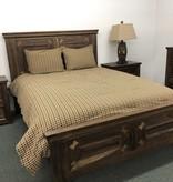 IFD 1101- Queen Bed Walnut