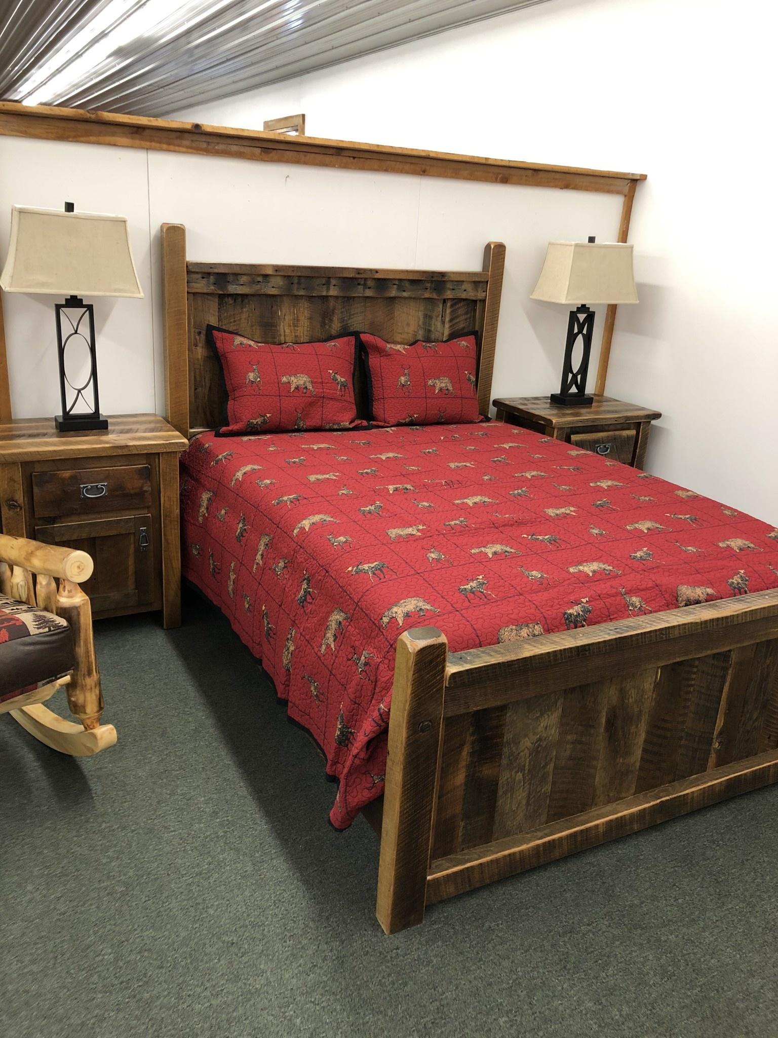 Hiend Woodland Plaid 3 pc Quilt Set King