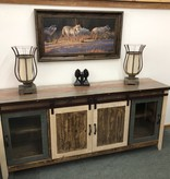 """IFD 962- 80"""" TV Stand-Ant  80x19x35"""