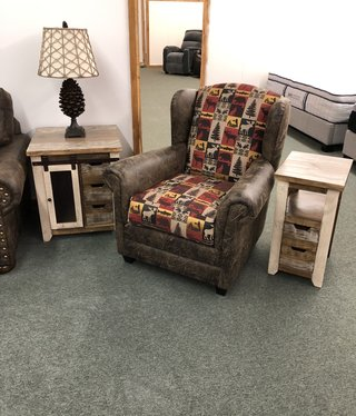 IMF 8017-20 Wing Chair