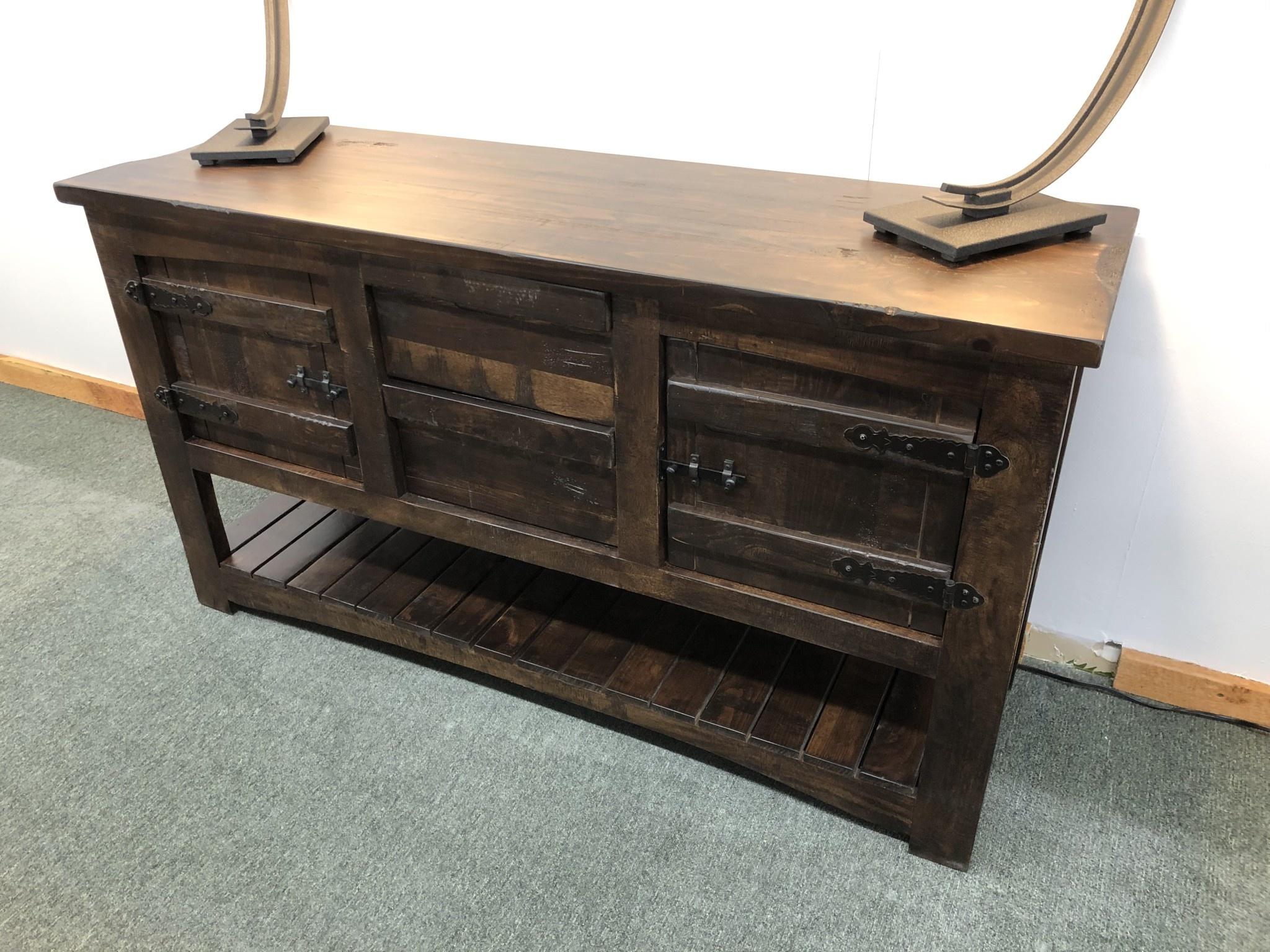 Ifd 567 Sofa Table W 2 Drawers Doors