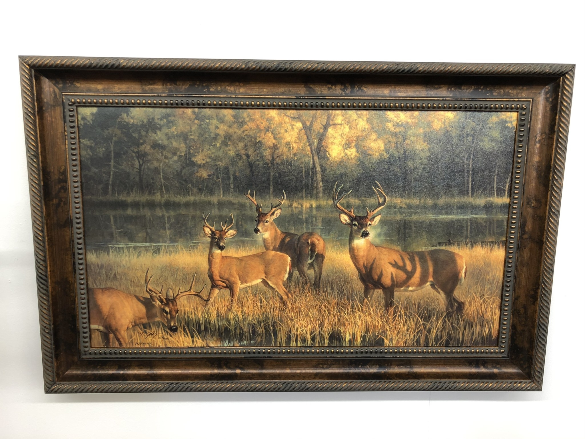 Saxton Art Shadow Time  (Deer) Limited Edition