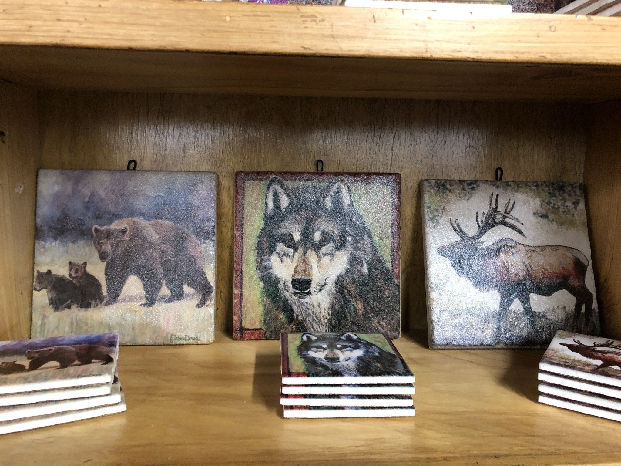 River Time Designs Animal / Scenery Tile Trivets or Wall Art