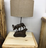 Crestview Moose Trail Table Lamp