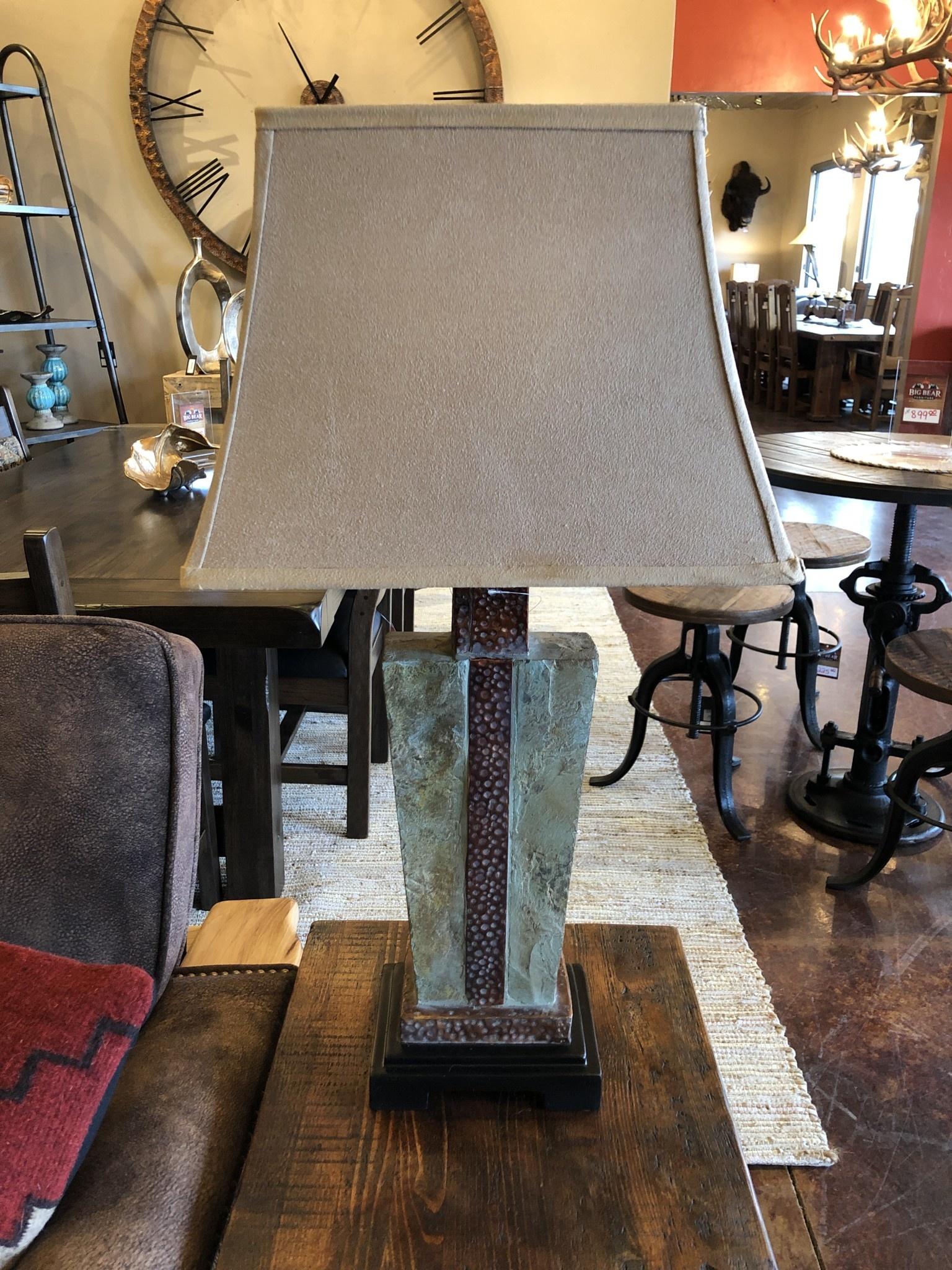 Uttermost Slate One Light Table Lamp