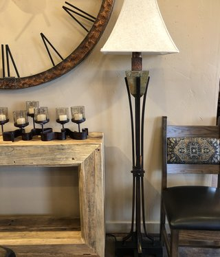 Uttermost Slate One Light Floor Lamp