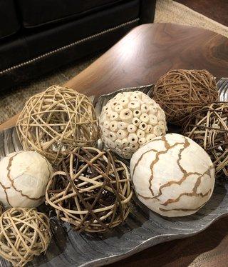 Uma Natural Fiber Balls