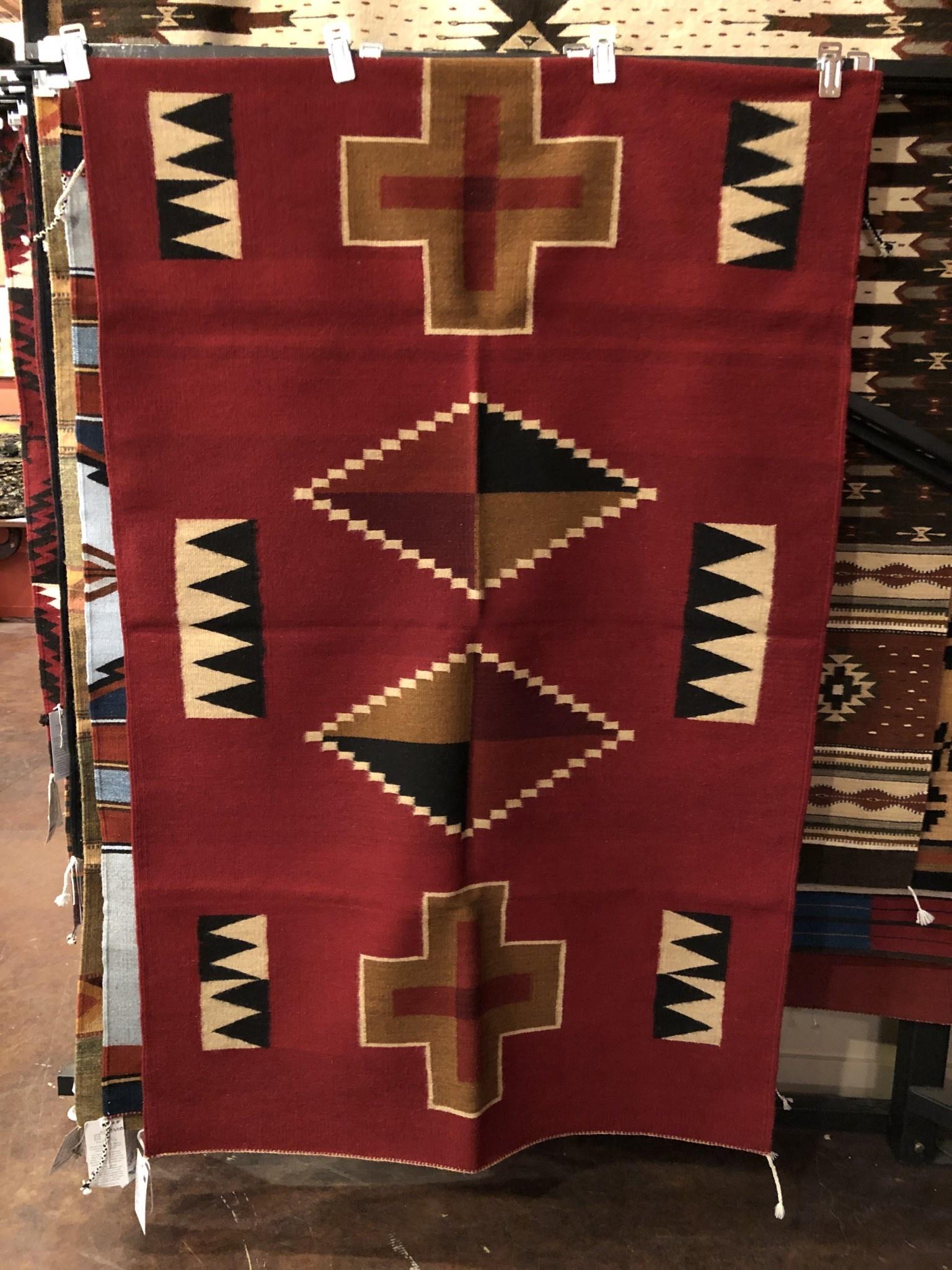 """Co-Escalante Zapotec """"Kayenta  Red"""" 4x6  ER8040"""