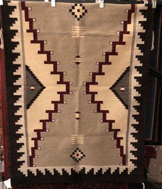 """Co-Escalante Zapotec  """"Shiprock Antique"""" 4x6  ER2877"""