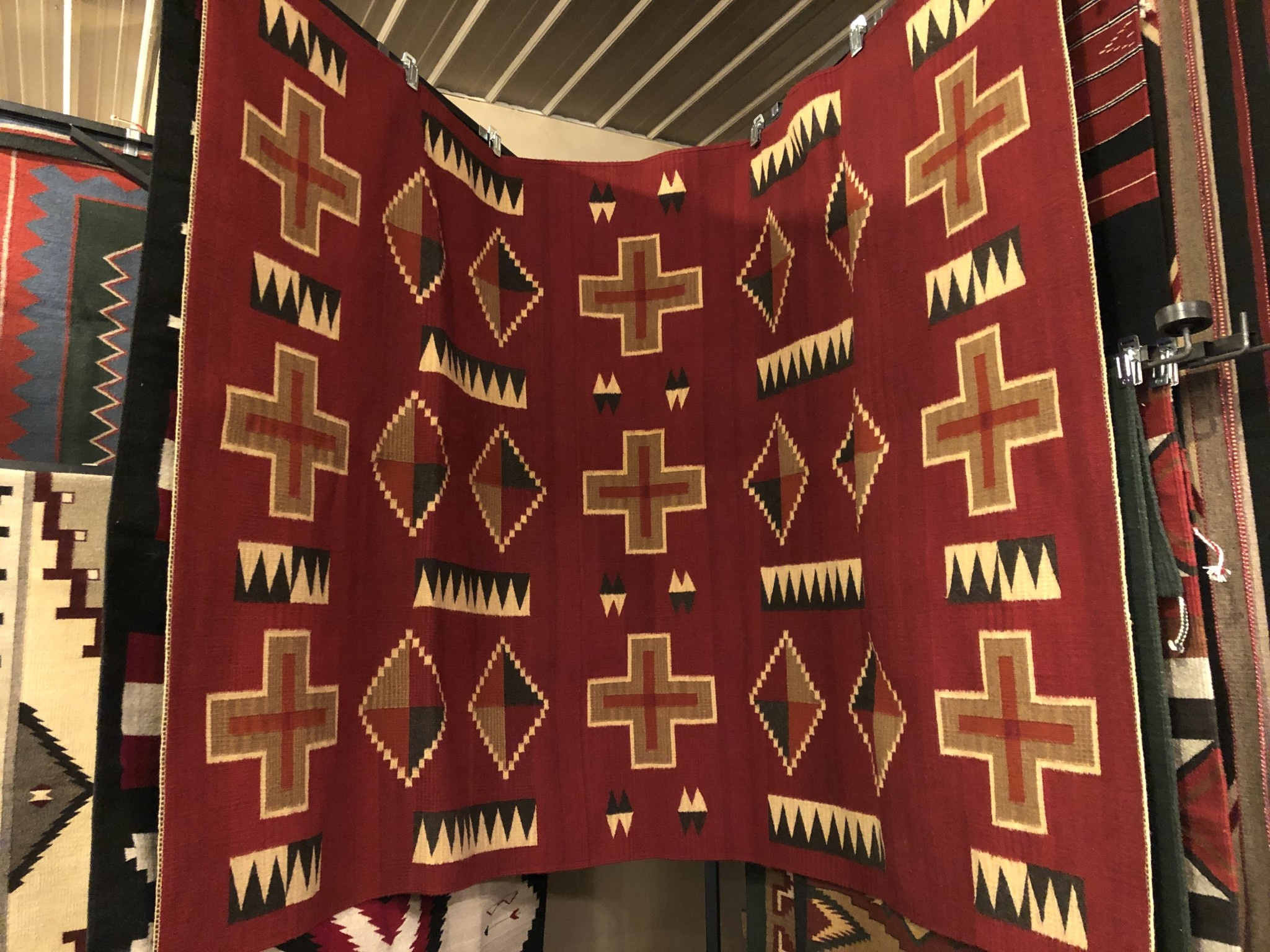 """Co-Escalante Zapotec """"Kayenta Red""""  6x9  ER1172"""