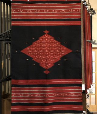 "Co-Escalante Zapotec ""Saltillo Rojo"" 5x8    ER2798"