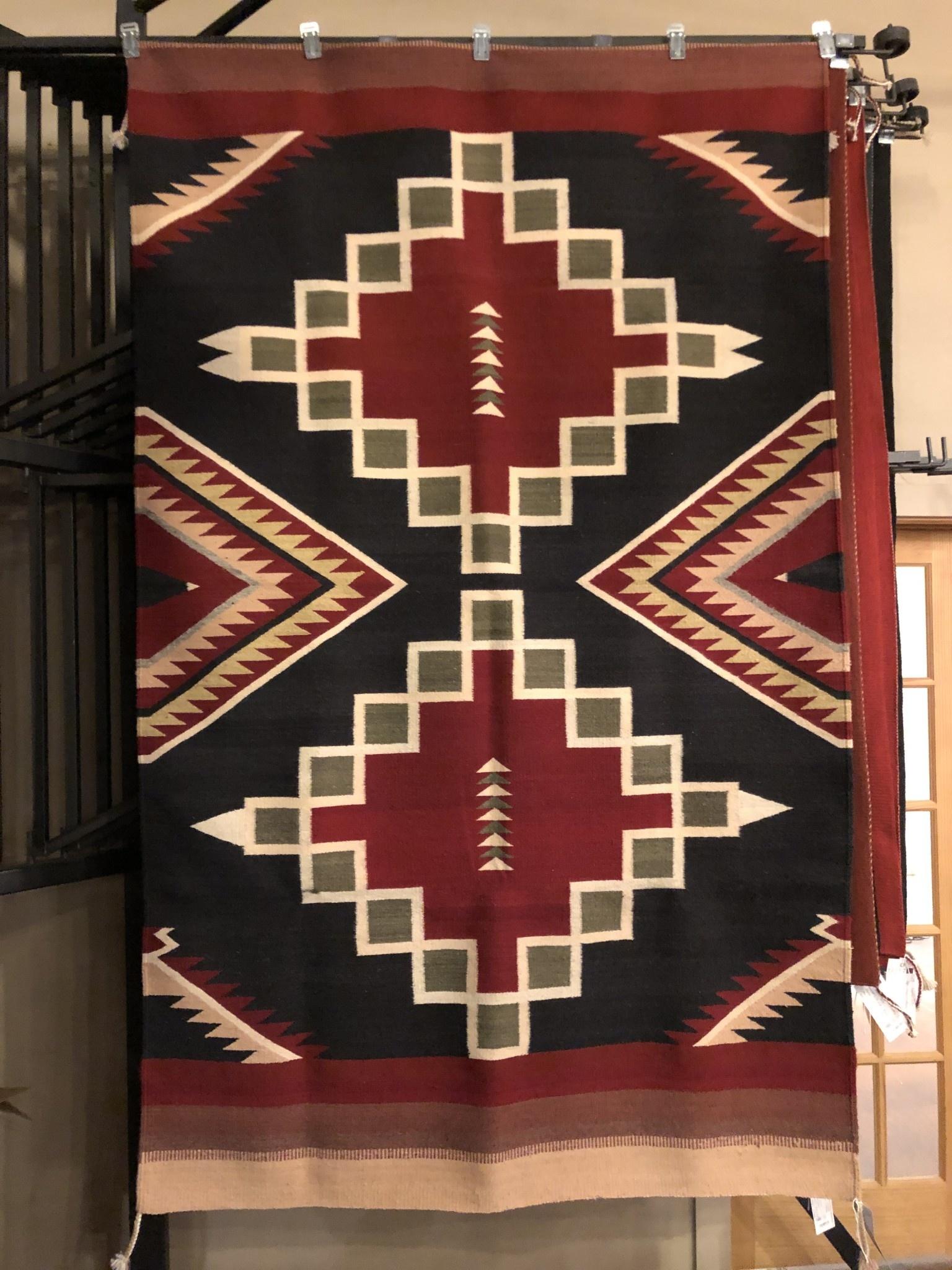 """Co-Escalante Zapotec """"Guinde Verde""""  5x8  ER3827"""