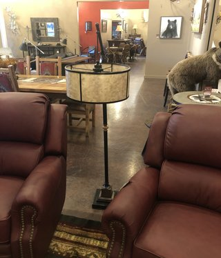 Uttermost Sitka One Light Floor Lamp