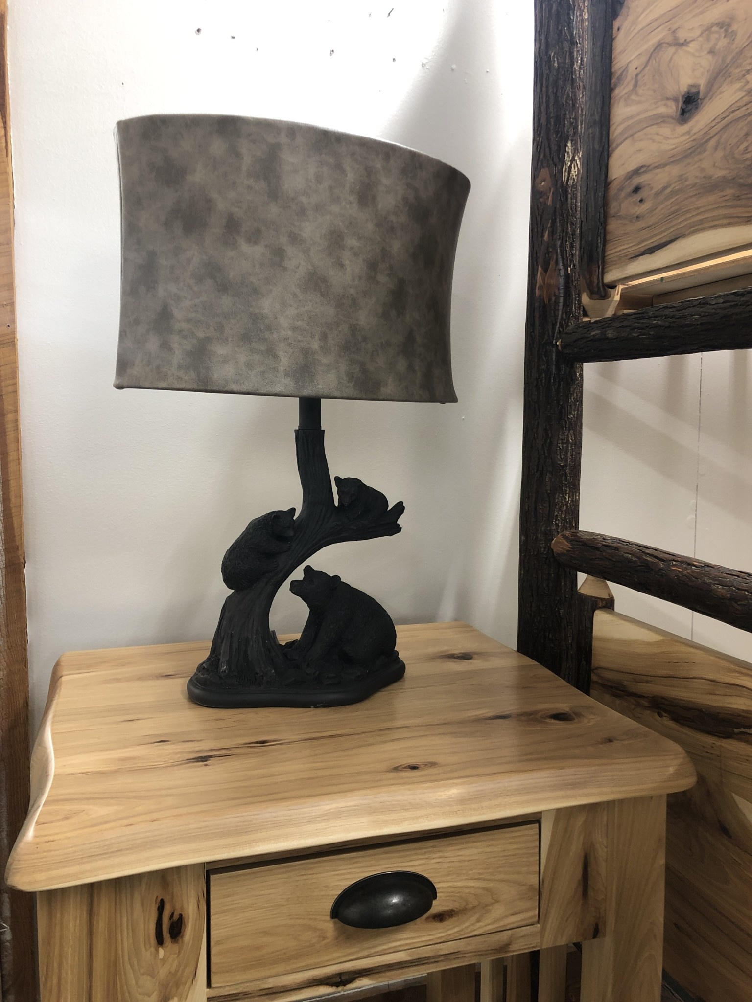 Crestview Bear Family Table Lamp
