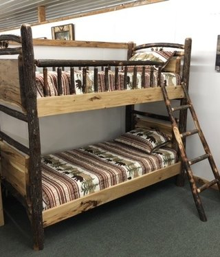 Co-ALBC Hickory Twin/Twin Bunkbed