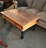 Green Gables Cave Creek 2 Door Coffee Table 20H x 48W x 28D