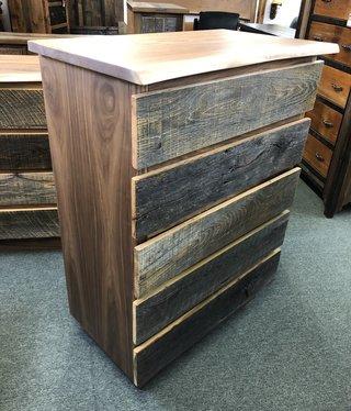 Green Gables Hillsboro 5 drawer Chest  49x36x20