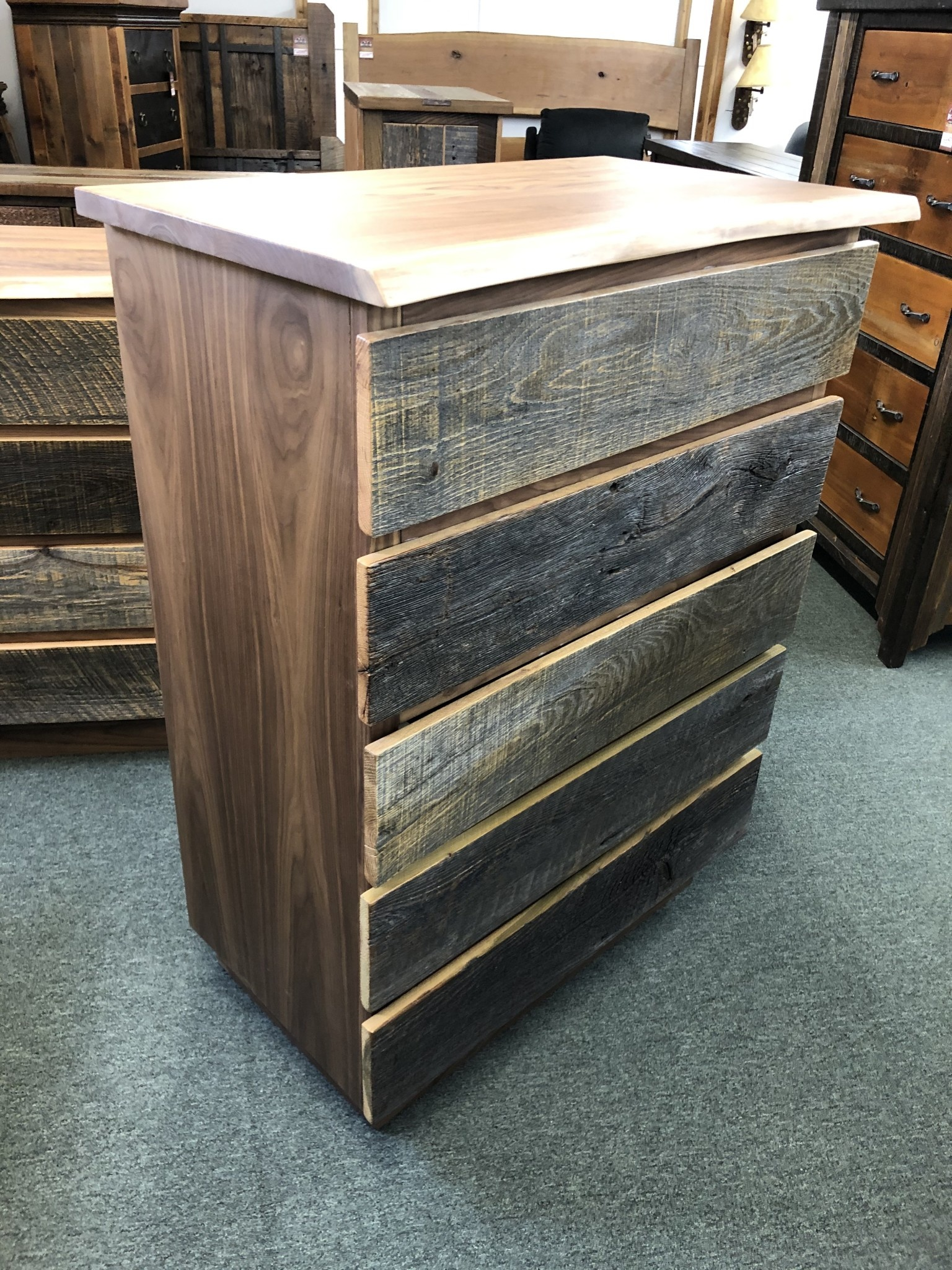 Green Gables Hillsboro 5 drawer Chest  49x36x20