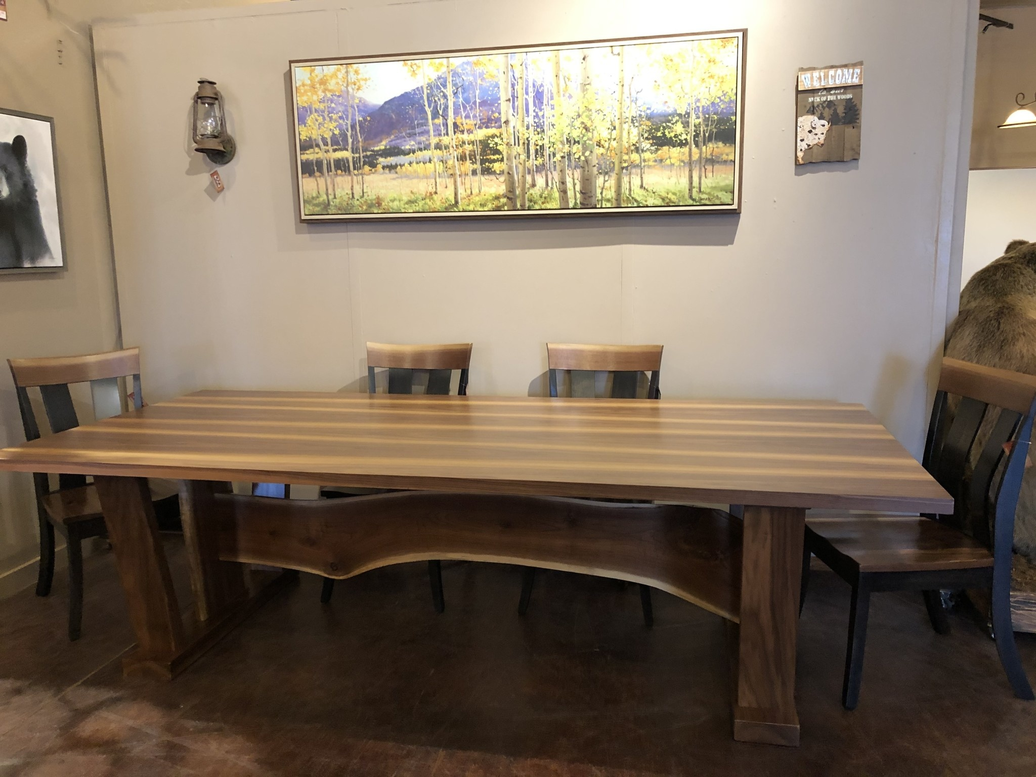 Green Gables Murray Hill Dining Table 31H x 108L x 48W