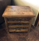 Green Gables Western Traditions 3 drawer Nightstand 28x30x24