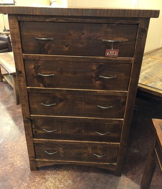Green Gables Woodland Park 5 drawer Chest   57.5x38x20