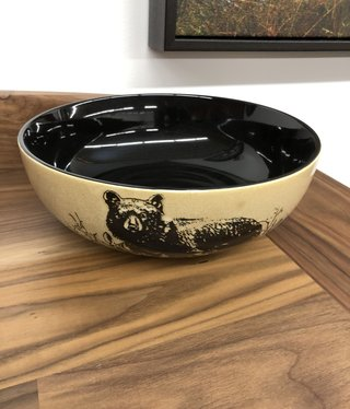 "Unison Gifts Bear 10"" Serving Bowl"