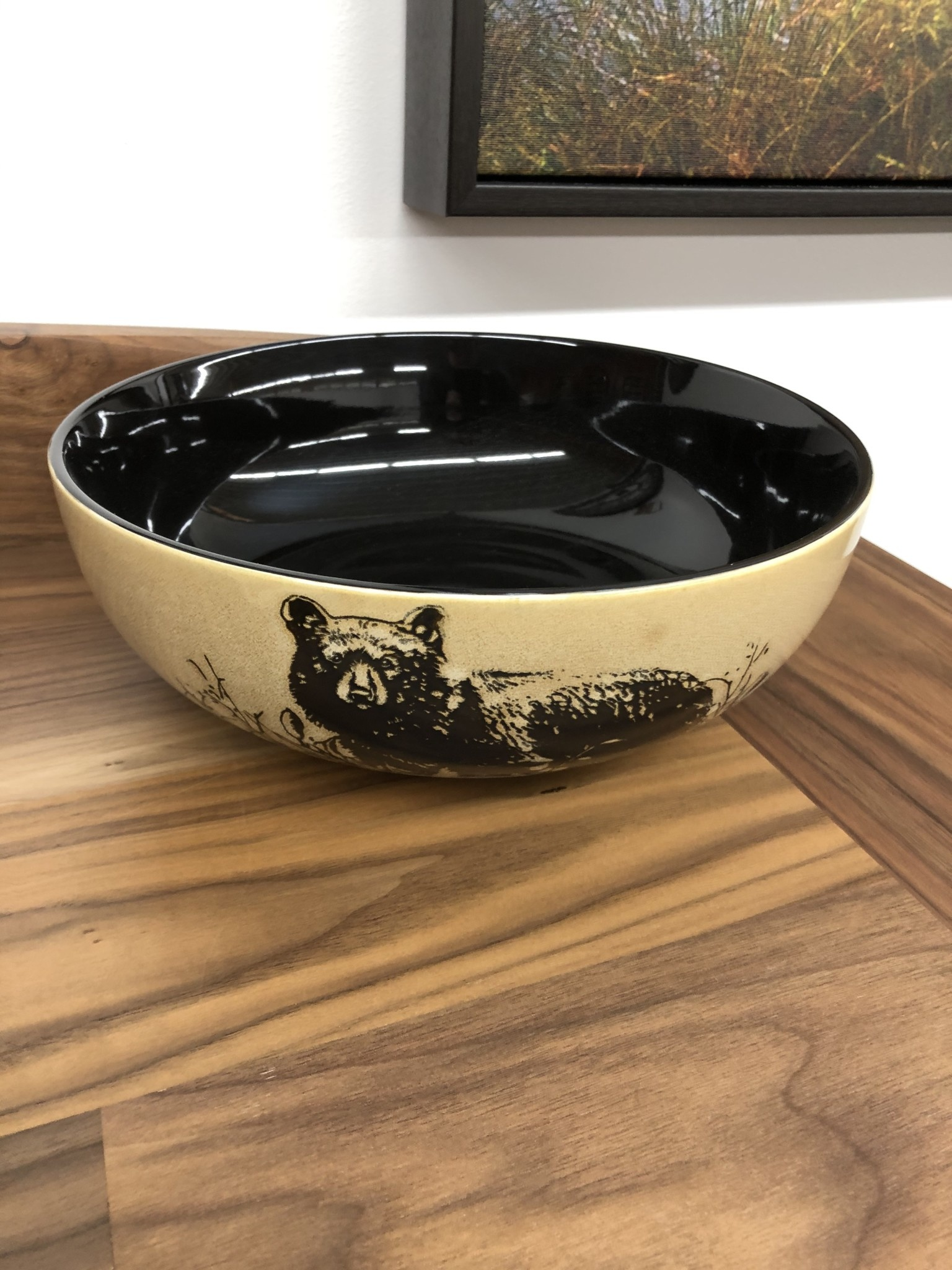 "Unison Gifts Bear 10"" Serving Bowl"