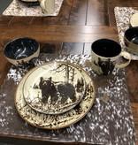 "Unison Gifts Bear 10.5"" Dinner Plate"