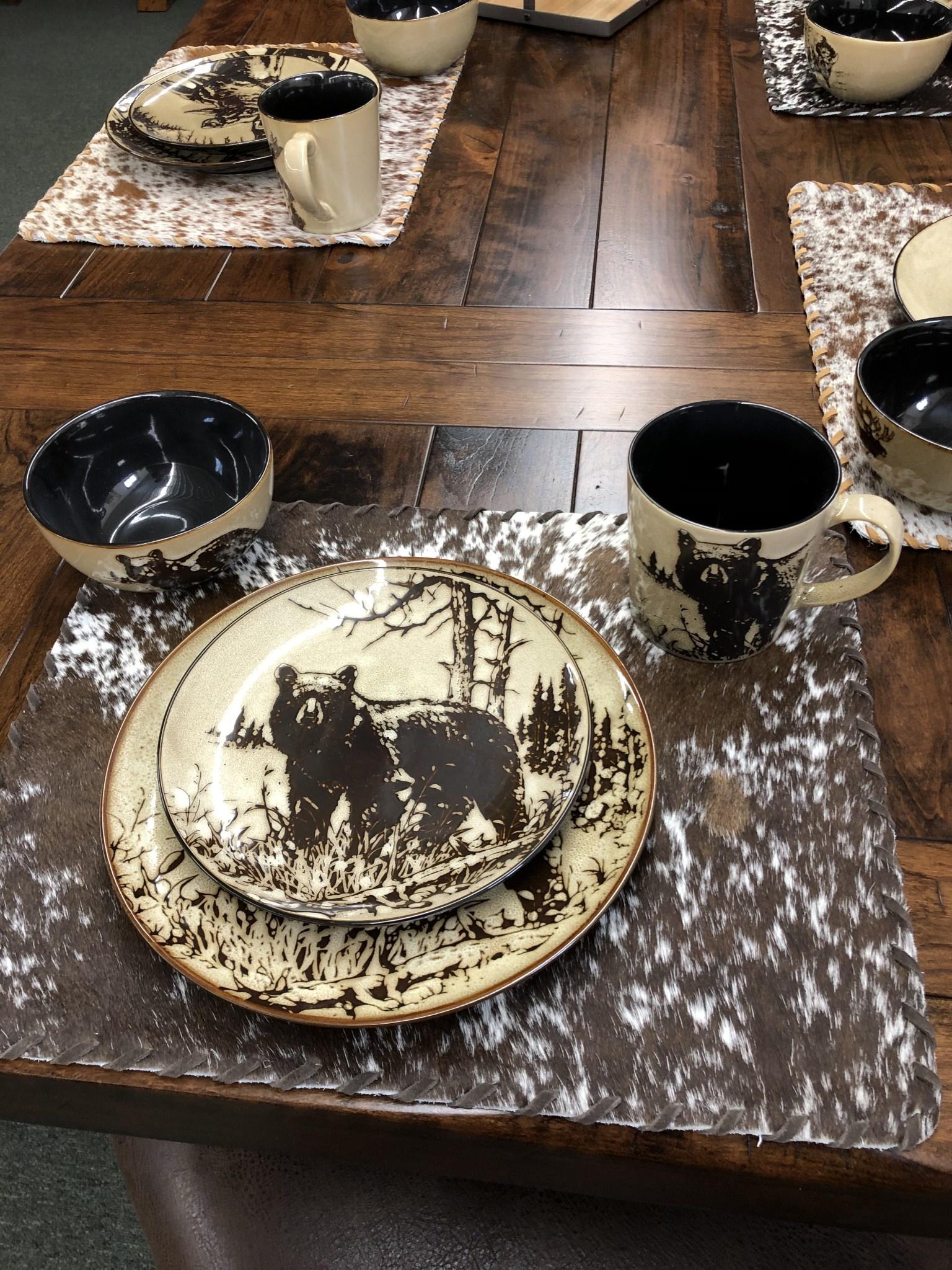 "Unison Gifts Bear 5.5"" Bowl"