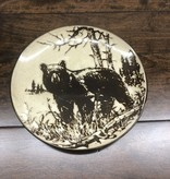 "Unison Gifts Bear 8.25"" Salad Plate"