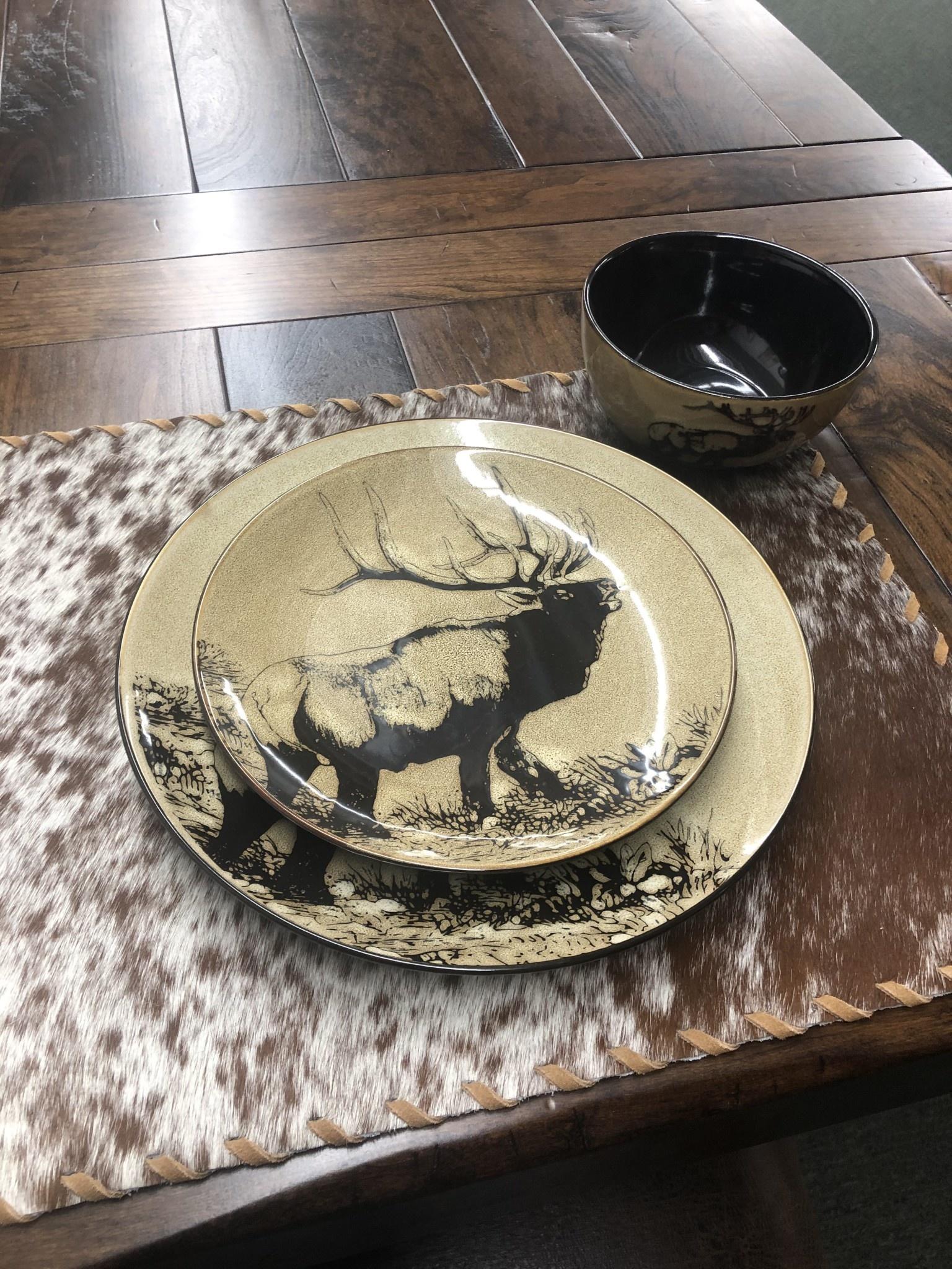 """Unison Gifts Elk 5.5"""" Bowl"""