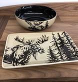 "Unison Gifts Moose 10"" Serving Bowl"