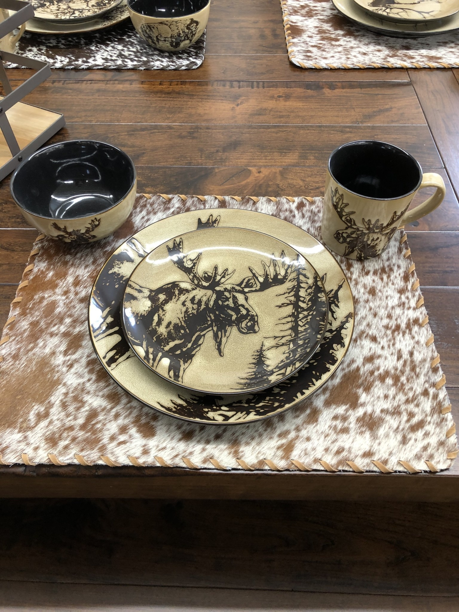"Unison Gifts Moose 5.5"" Bowl"