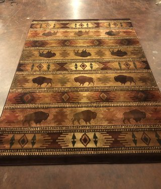 "United Weavers Genesis Tatonka Lodge Rug 5'3"" x 7'6"""