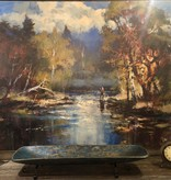 """Mexican Country Meter Bowl  38""""x8"""""""