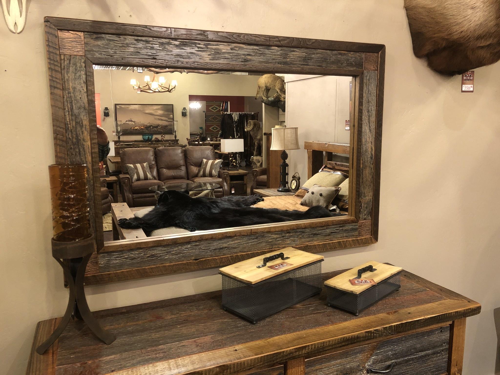 Green Gables Copperhead Mirror  36H x 54W